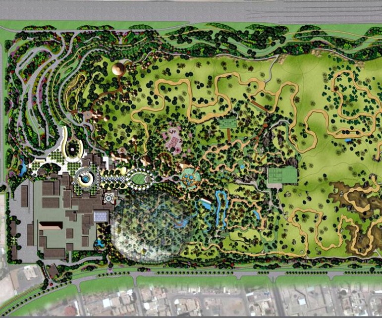 Final Concept And Master Plan Design Of The New Doha Zoo Revealed Eti