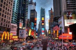 Technology that powers digital media in New York's Times Square can now be used in attractions.