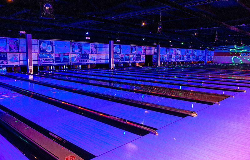 Round1 Bowling Center lit with elektraLite ML-902 fixtures